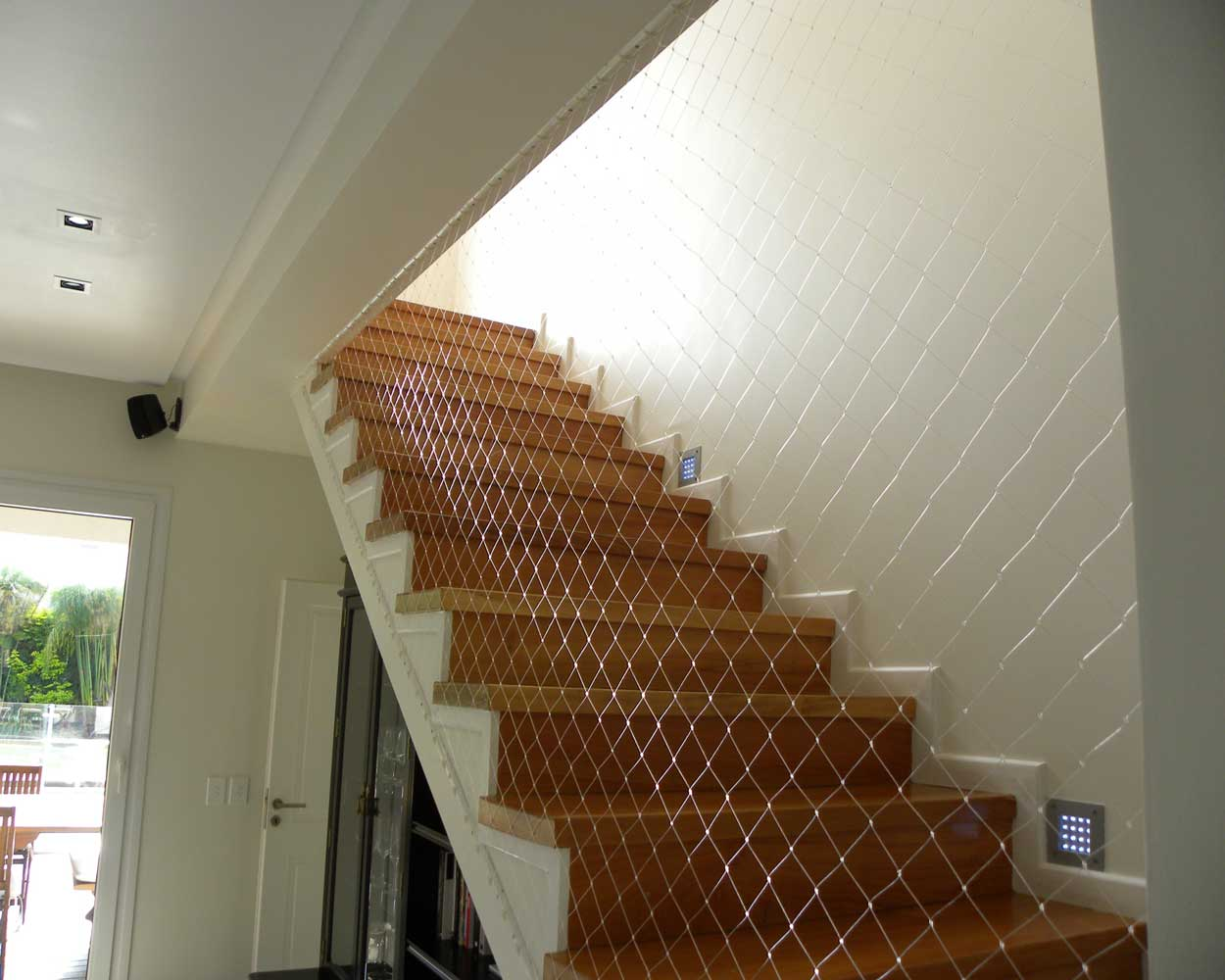 Charmant Safety Net For Stairs ...